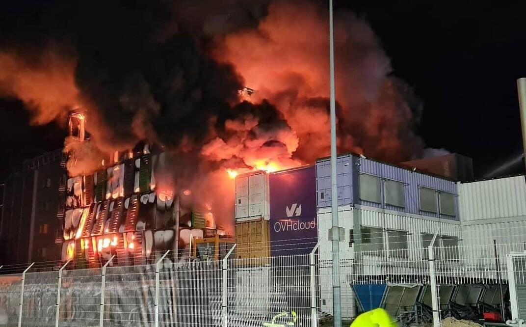 Incendio OVH
